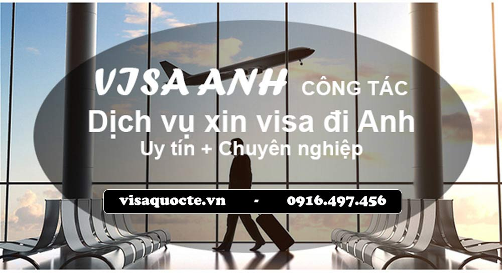 Dịch vụ xin visa anh công tác