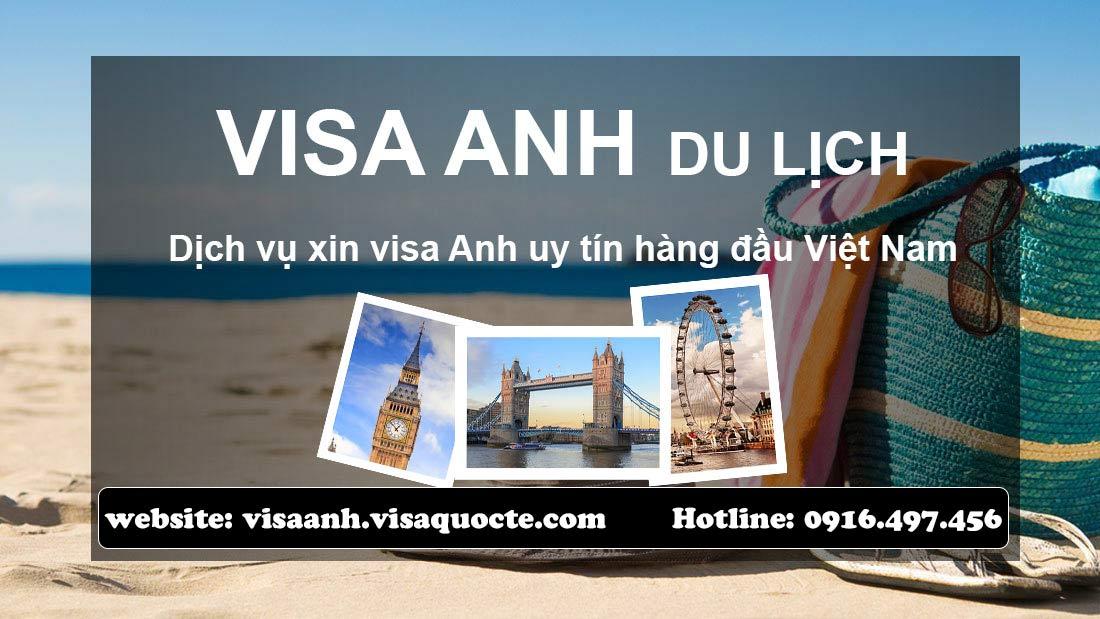 xin visa Anh du lịch