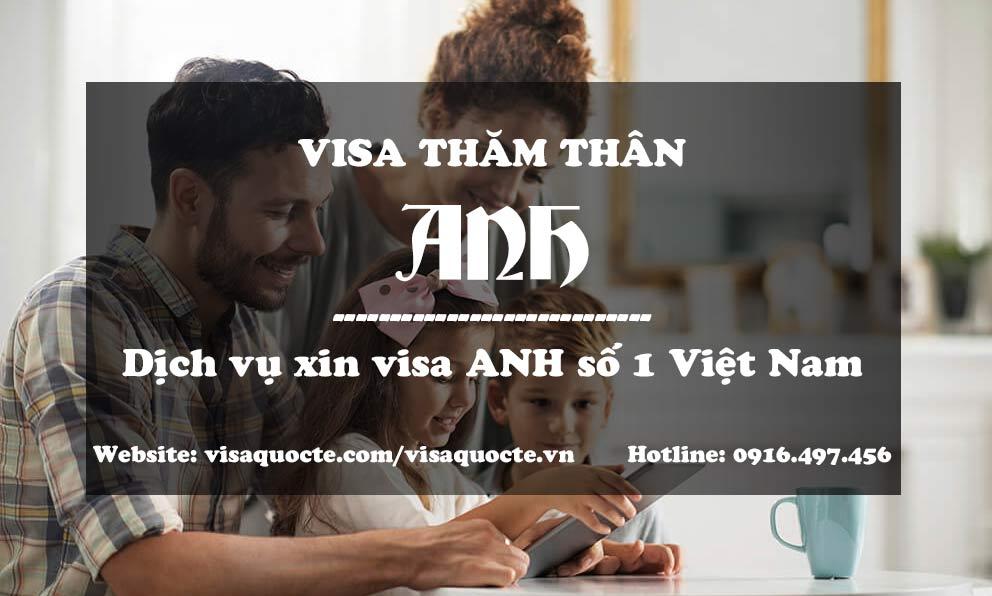 dịch vụ xin visa anh thăm thân